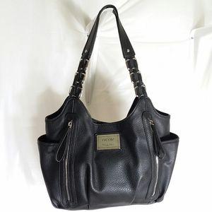 Nicole By Nicole Miller Black Shoulder Bag